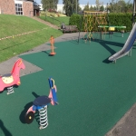 Playground Mulch Pathway in Achleck 1
