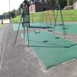 Playground Mulch Pathway in Achleck 2