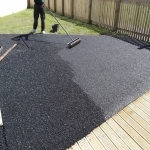 Rubber Mulch Surface in Aberdulais 3