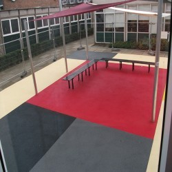 Play Area Rubber Surfaces in Ariundle 12