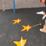 Wetpour Safety Surface in Acharn 4