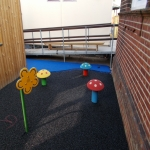 Playground Mulch Pathway in Alconbury 12