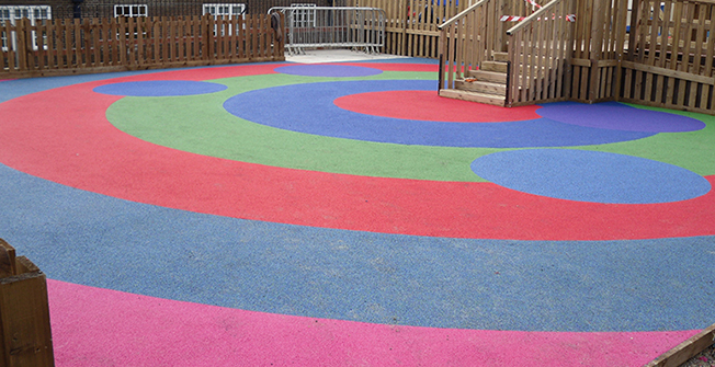 Play Area Rubber Surfacing