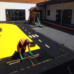 Play Area Rubber Surfaces in Abdy 2