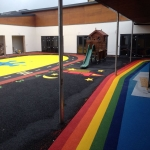 Play Area Rubber Surfaces in Achininver 11