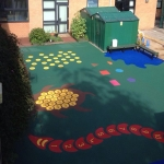 Playground Mulch Pathway in Acha 6