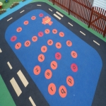 Wetpour Safety Surface in Acharn 11