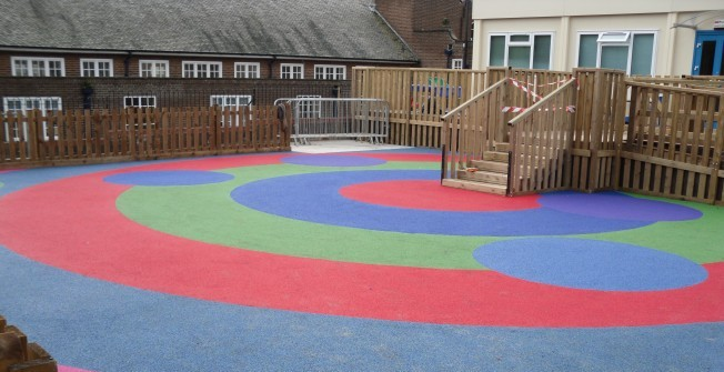 Playground Safety Surfaces in Pen-y-Bont
