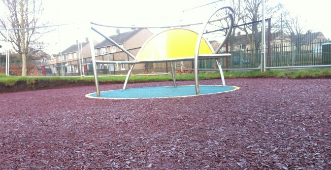 Resin Bound Mulch in Aberdulais