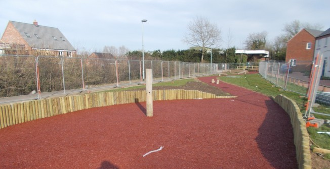 Mulch Playground Repair in Aberdesach