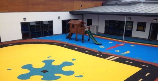 Rubber Playground Designs in Aiginis